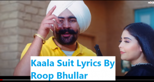KAALA SUIT LYRICS - PUNJABI LYRICS
