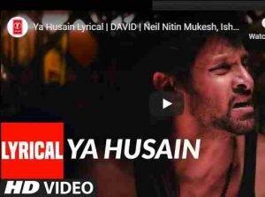 Ya Husain lyrics By Turaz