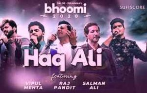 HAQ ALI LYRICS - BHOOMI