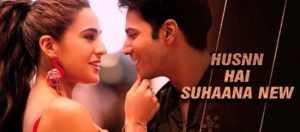 HUSN HAI SUHANA LYRICS – COOLIE NO 1